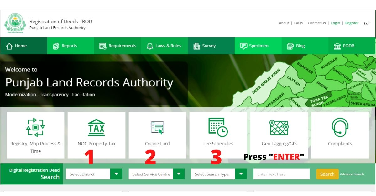 How to Check Property Ownership in Pakistan Online