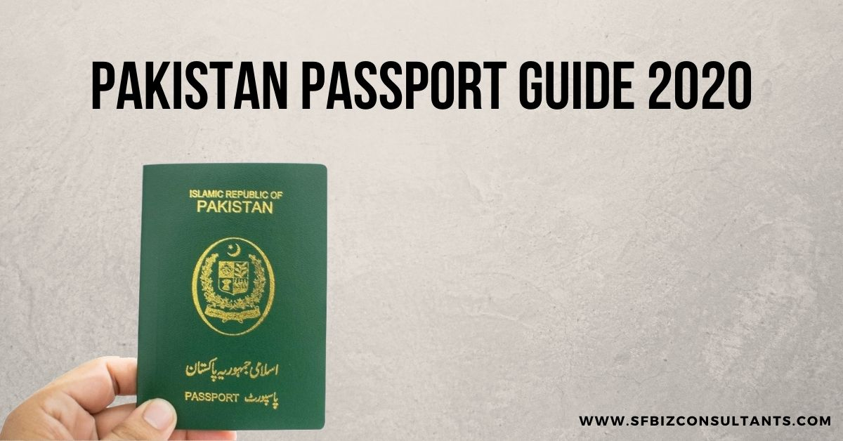 Pakistan Passport Guide 2020