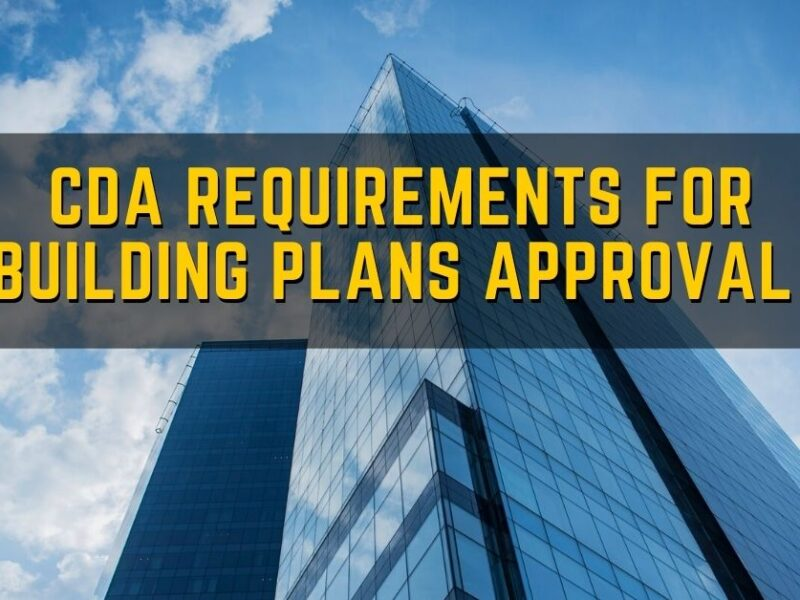 CDA Requirements For Building Plans Approval