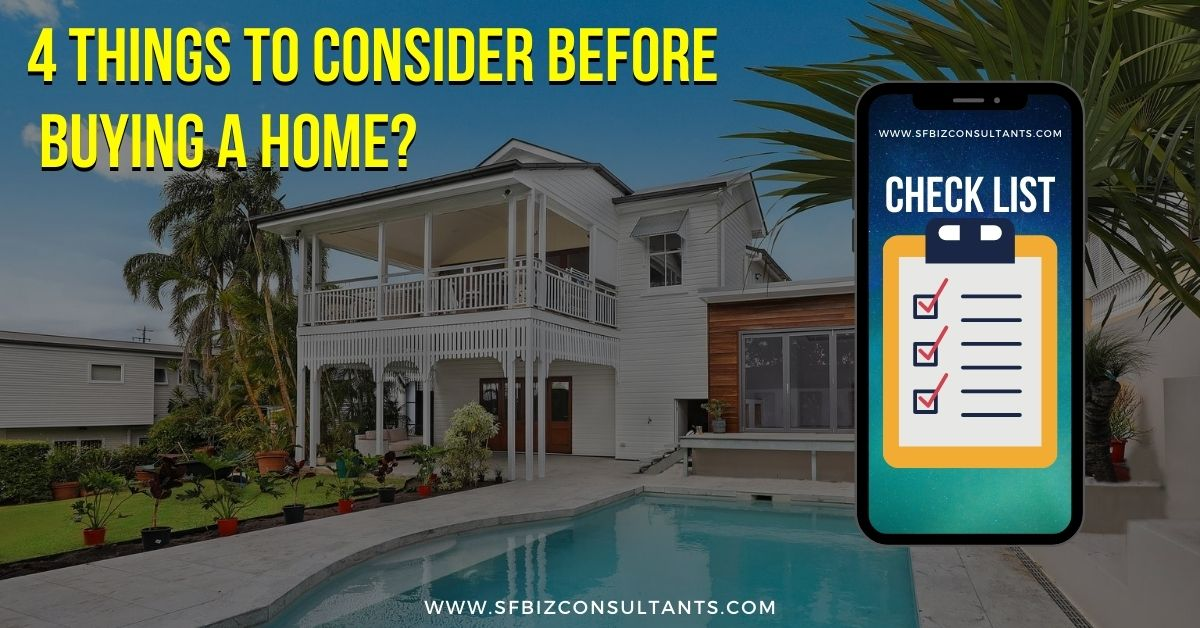 Consider Before Buying a Home