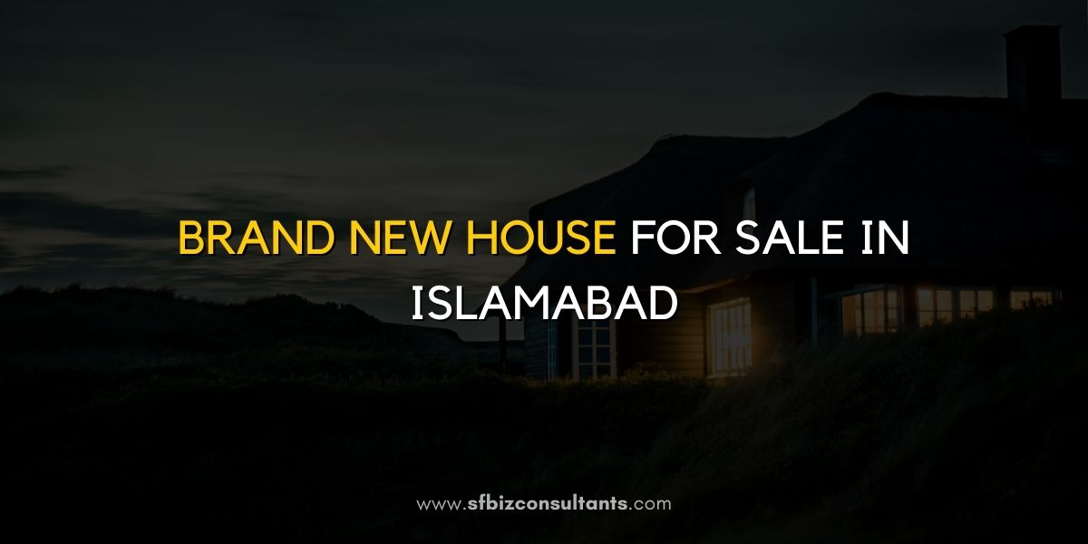 New House For Sale In Islamabad